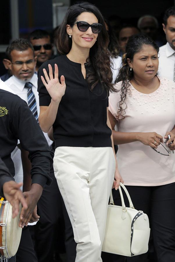 <strong>When:</strong> September 7, 2015 <br> <strong>Where: </strong> Arriving in the Maldives to represent former president Mohamed Nasheed