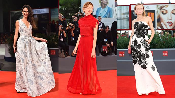 The best looks from the 2015 Venice Film Festival, from the Italian waterside to the red carpet.