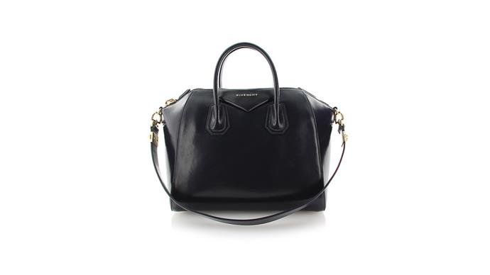 """<strong>France Colignon, <a href=""""http://www.cosette.com.au/"""">Cosette</a> </strong><br><br> """"The Givenchy Antigona is a timeless classic that always flies off our shelves."""" <br><br> Givenchy bag, $1,989,  at <a href=""""http://www.cosette.com.au/designers/givenchy/givenchy-antigona-dark-blue-1.html"""">Cosette </a>"""