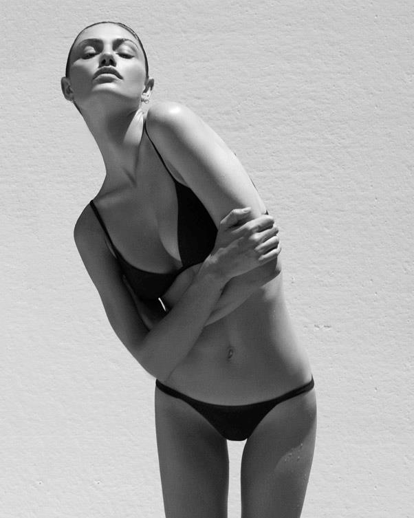 <strong>Tell us your idea of the ultimate bikini?</strong> <br><br> Black, simple, flattering and comfortable. <br><br> Image: Alexandra Nataf