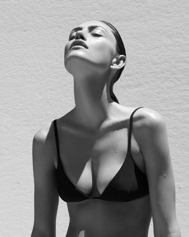 <strong>What is the secret to finding the most flattering swimsuit in your opinion?</strong> <br>,br> I think its about knowing and understanding your body and being comfortable in your skin first and foremost. Women come in all shapes and sizes and are equally beautiful. <br><br> Image: Alexandra Nataf