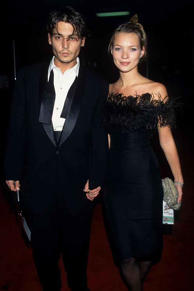 <strong>Johnny Depp & Kate Moss</strong> <br><br> So beautiful. So glamorous. Their breakup in 1998 left Moss crying for years and the rest of us reeling over all the fabulously stylish photo ops we would never have the chance to see.