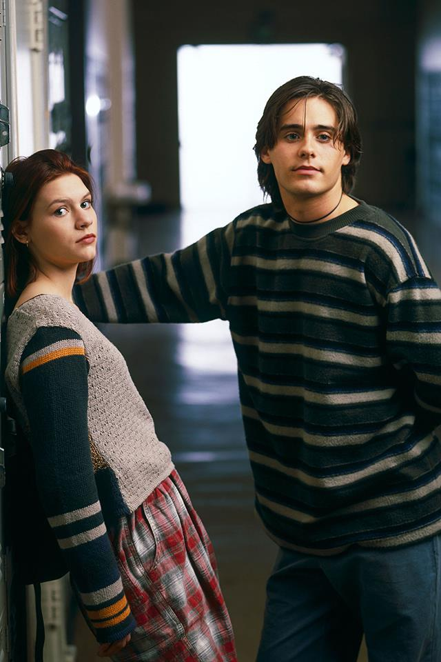 <strong>Angela Chase & Jordan Catalano</strong> <br><br> Was there a person alive who couldn't identify with Angela Chase? The angsty, misunderstood teen crushing so hard on that beautiful, misunderstood loaner that she thought her whole world was going to come crashing down at any minute? Every glance or nod of his head was pregnant with so much meaning, she could spend hours obsessing over it. How could that not be, like, true love, right? (To those of you who want to point out that they got back together in the finale ... let's be real: That wasn't going to last.)