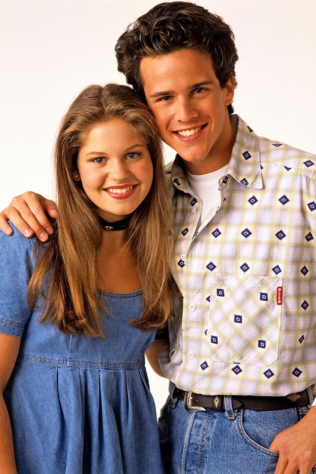<strong>D.J Tanner and Steve Hale</strong> <br><br> Remember when D.J. came off the plane with Steve after hooking up with him during her summer in Europe? Danny was so pissed! God, Steve was an idiot, but it didn't matter. He was cute. Cute in that nonthreatening, first-love, puppy-dog sort of way that is both completely nonsexual and yet seems capable of lasting the rest of your life. GETTY IMAGES