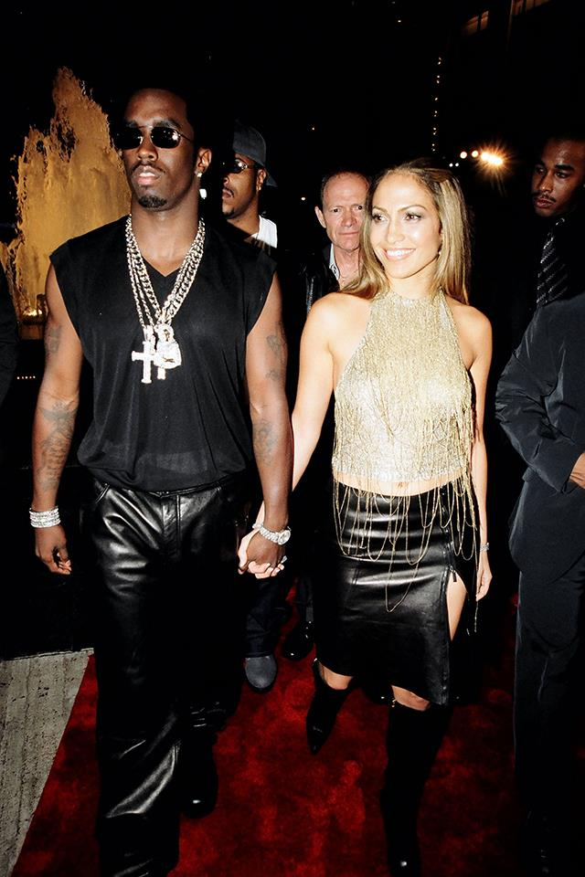 <strong>P.Diddy & J.Lo </strong> <br><br> Before they got together they were just Jennifer Lopez and Puff Daddy, but together they were J.Lo and P.Diddy: super famous, glamorous, and just a little dangerous. A little too dangerous, apparently, since they broke up following a late 1999 shooting incident outside a club in New York City