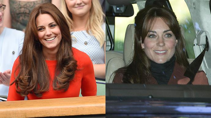 <strong>Catherine, Duchess of Cambridge</strong><br> Among Kate Middleton's many talents: Ability to pull off bangs.
