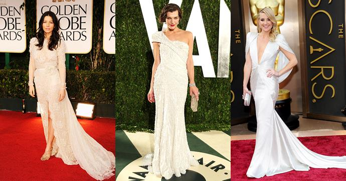 Looking for some wedding dress inspo? Look no further than these iconic red carpet gowns...