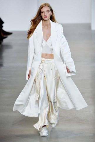 Calvin Klein Collection spring summer 2016 New York fashion week show