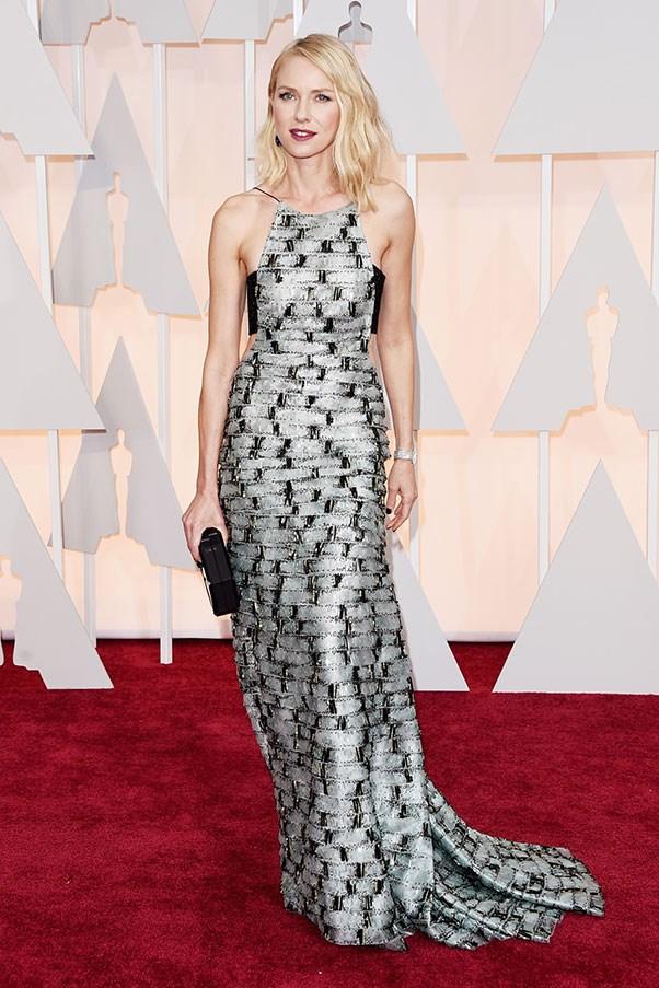 <strong>GIORGIO ARMANI</strong><BR><BR> Naomi Watts at the Academy Awards