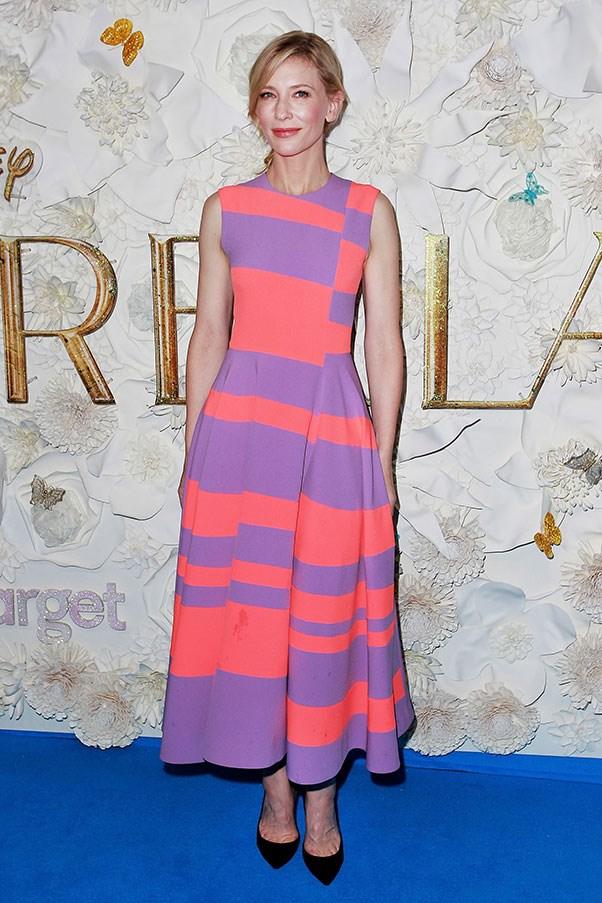 <strong>ROKSANDA</strong><BR><BR> Cate Blanchett at the <em>Cindarella </em>Sydney premiere