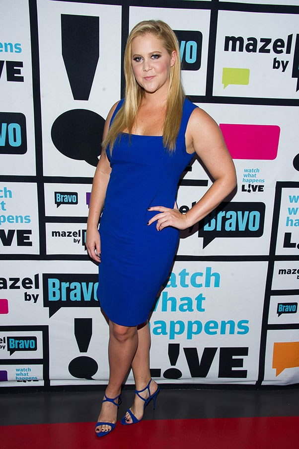 <strong>ROLAND MOURET</strong><BR><BR> Amy Schumer at the <em>Watch What Happens Live</em> season 12 premiere