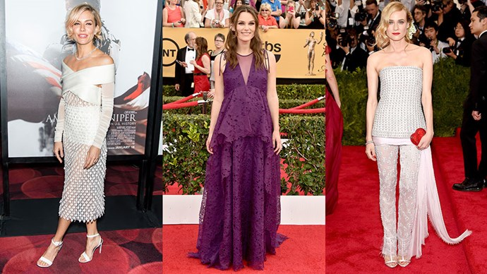 And the top red carpet designers (according to the Hollywood Reporter) of 2015 are...