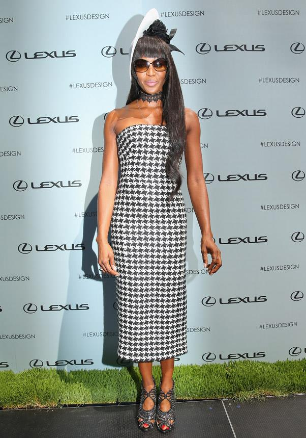 <strong>DERBY DAY:</strong> <BR><BR> Pictured: Naomi Campbell