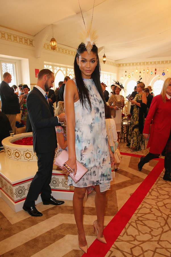 <strong>STAKES DAY:</strong> <BR><BR> Pictured: Chanel Iman