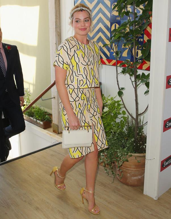 <strong>STAKES DAY:</strong> <BR><BR> Pictured: Margot Robbie