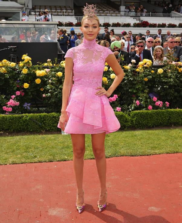 <strong>MELBOURNE CUP:</strong> <BR><BR> Pictured: Gigi Hadid