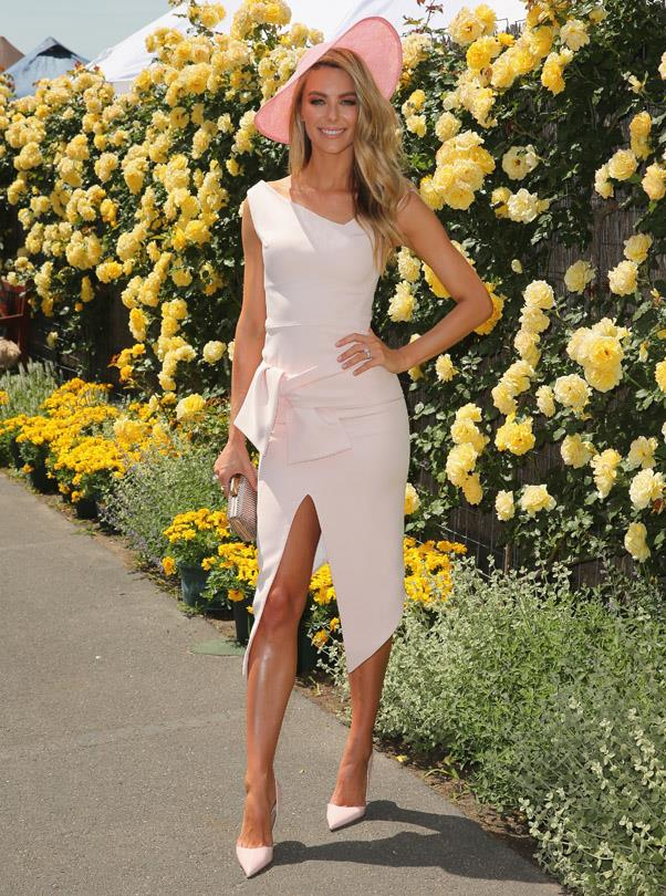 <strong>OAKS DAY:</strong> <BR><BR> Pictured: Jennifer Hawkins