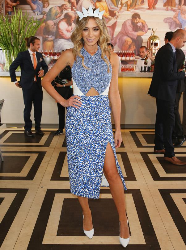 <strong>OAKS DAY:</strong> <BR><BR> Pictured: Nadia Bartell