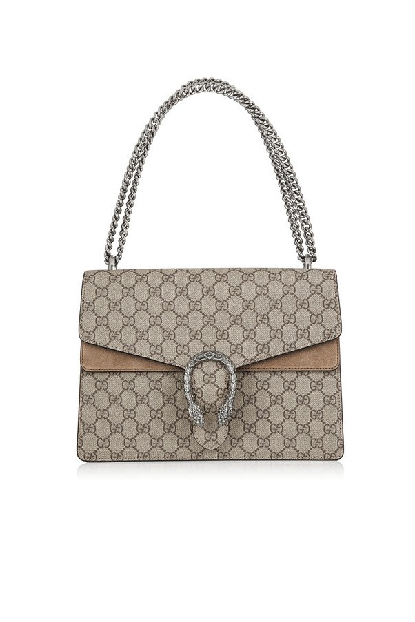 """<strong>8. Something (anything!) in a classic monogram:</strong> <br><br> Buy: Gucci bag, $2,385, at <a href=""""http://www.net-a-porter.com/au/en/product/608207"""">Net-a-Porter</a>"""