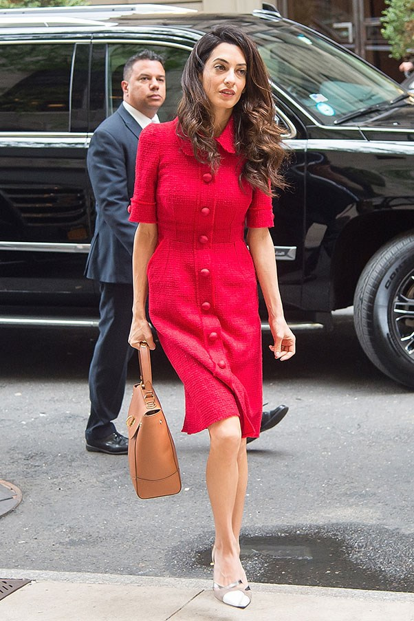 <strong>What: </strong>Dolce & Gabbanna<br> <strong>Where: </strong>Out and about in New York<br> <strong>When: </strong>September 30, 2015<br>