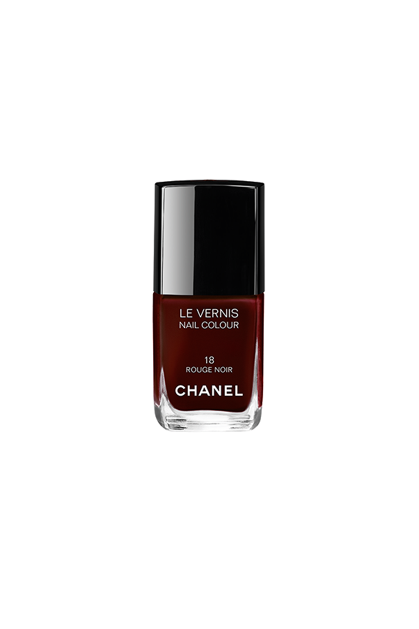 "You may recognise this colour from Uma Thurman's fingertips in the film <em>Pulp Fiction</em>. Rogue Noir was launched at Chanel's Autumn/Winter Show in 1994, and sold out on the day of its release, followed by 12 month wait list. It remains one of their best selling products. Chanel Le Vernis in Rogue Noir, $39, at <a href=""http://www.davidjones.com.au"">David Jones</a>."
