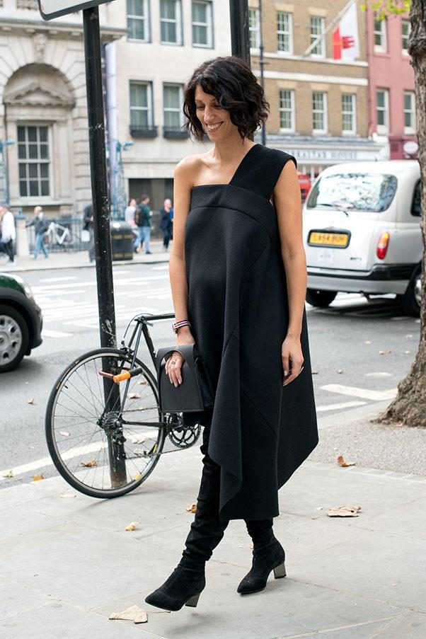 Yasmin Sewell, 2014 (at New York fashion week).