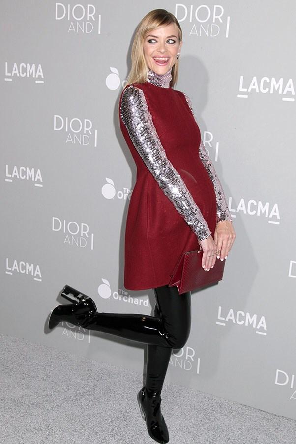 Jaime King, 2015 (in Dior).