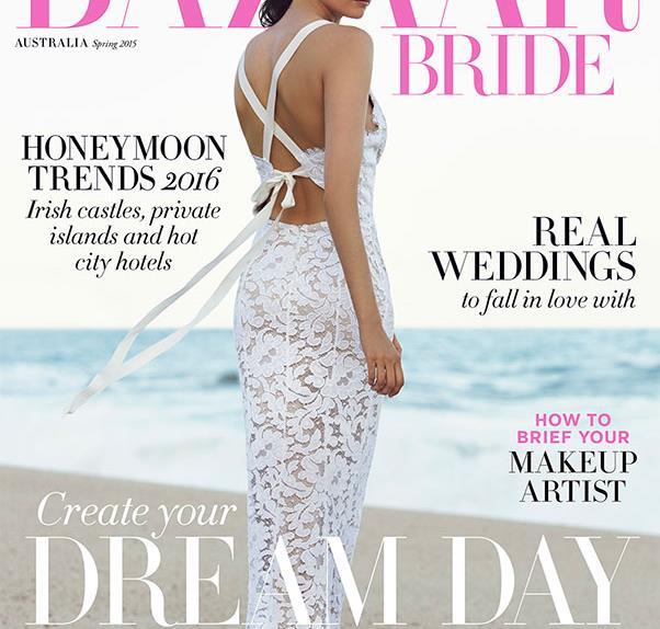 first look bazaar bride