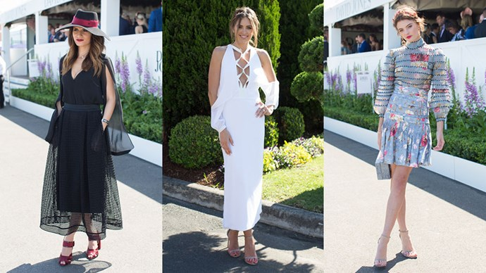 The most fashionable trackside looks from the 2015 Caufield Cup.