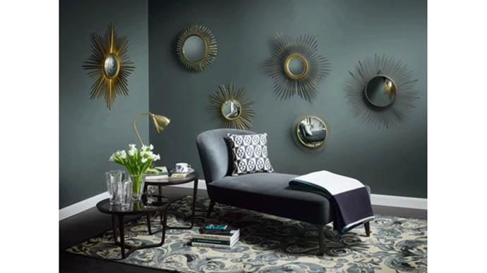 "<strong>GERMANY: New elegance<br><br></strong> This Art-Deco inspired trend involves lavish materials such as brass, gold and velvet. ""Essential ingredients are: statement pieces such as daybeds or cocktail chairs (in gemstone colors), folding screens and dressing tables."" — <em>Christine Bürg, Deputy Editor in Chief, ELLE Decoration Germany</em>"