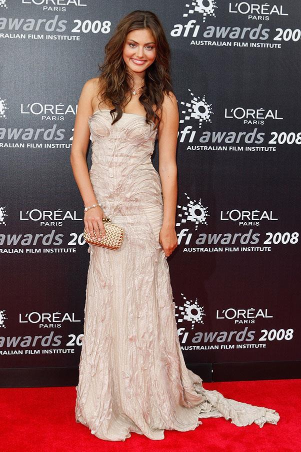 <strong>2008</strong><br><br> At the L'Oreal Paris AFI Awards