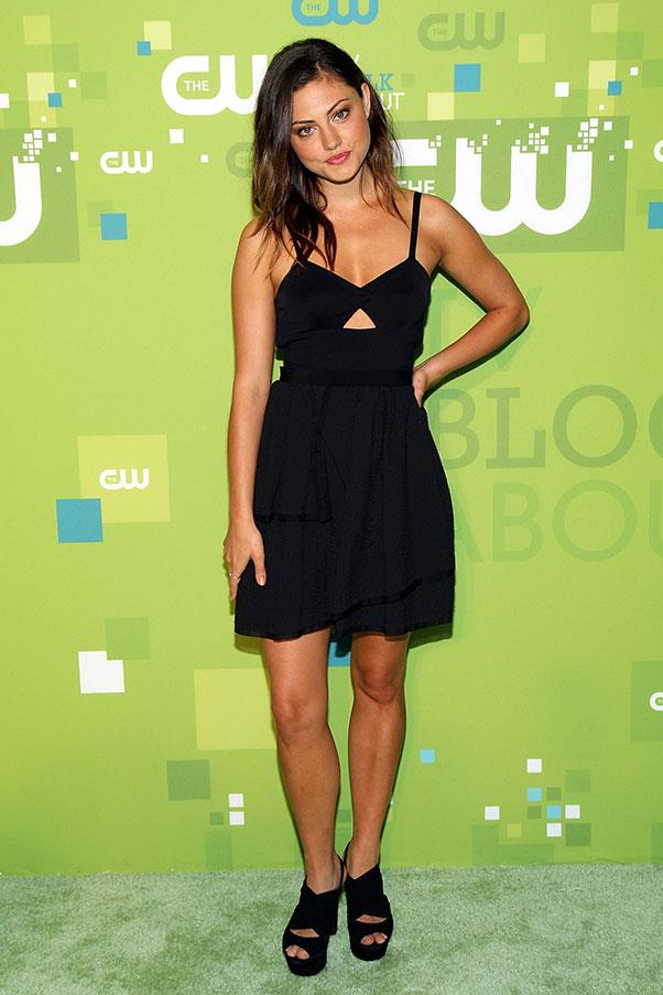 """<strong>2011</strong><br><br> At the CW Network's """"Upfront at Jazz"""" event"""
