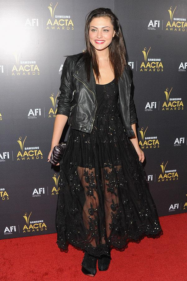 <strong>2012</strong><br><br> At the AACTA awards