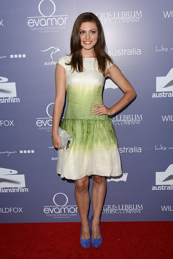 <strong>2012</strong><br><br> At the Australians in Film awards