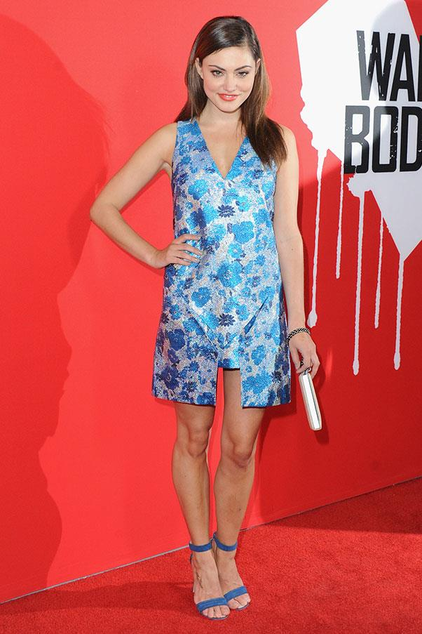 <strong>2013</strong><br><br> At the premiere of <em>Warm Bodies</em>