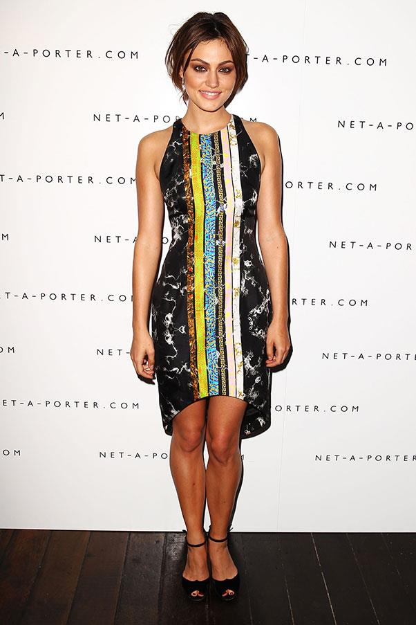 <strong>2013</strong><br><br> At the Net-a-Porter MBFWA party