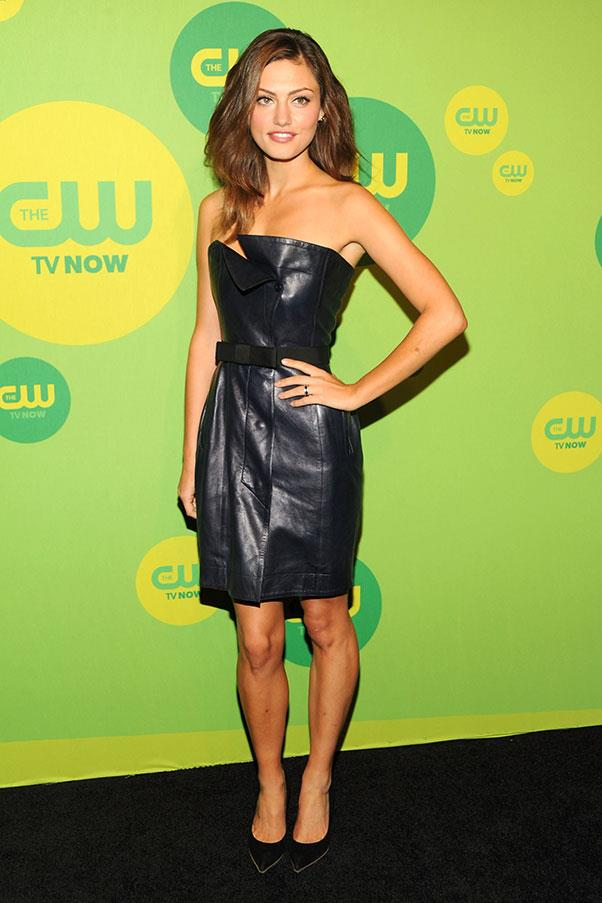 """<strong>2013</strong><br><br> At CW Network's """"Upfront Presentation"""""""