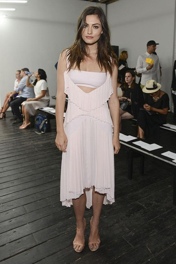 <strong>2014</strong><br><br> At the Dion Lee show, MBFWA