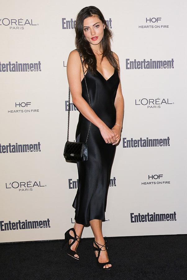 <strong>2015</strong><br><br> At the Pre-Emmy party at the Fig & Olive