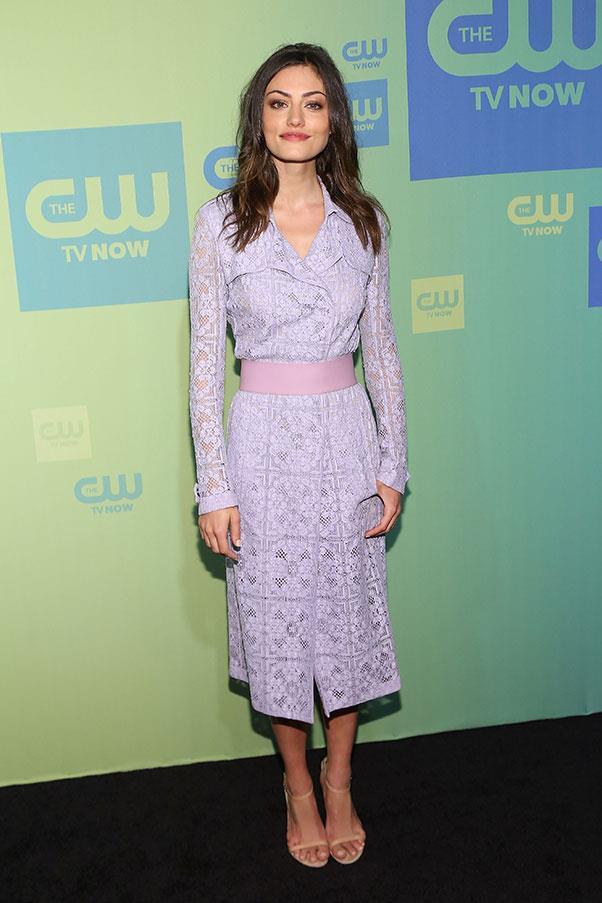 """<strong>2014</strong><br><br> At CW Network's """"Upfront Presentation"""""""