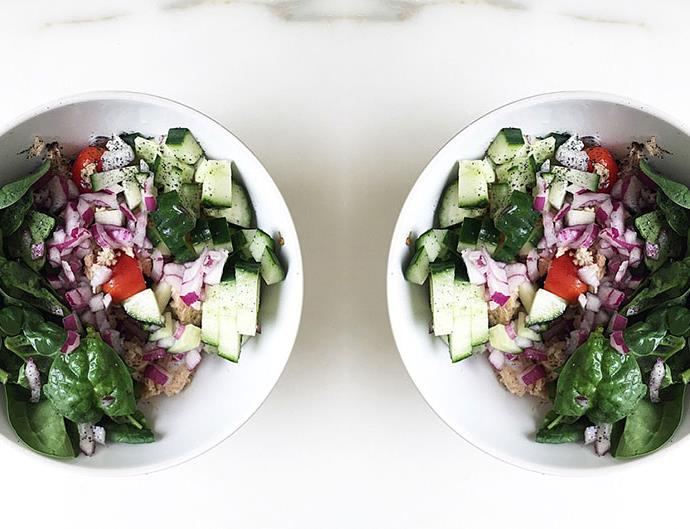 bianca cheah protein salad recipe