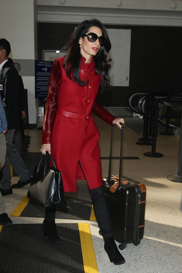 <strong>9. Sunglasses</strong><br><br> Amal Clooney