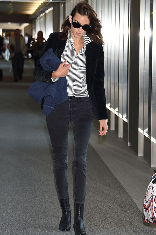 <strong>9. Sunglasses</strong><br><br> Alexa Chung