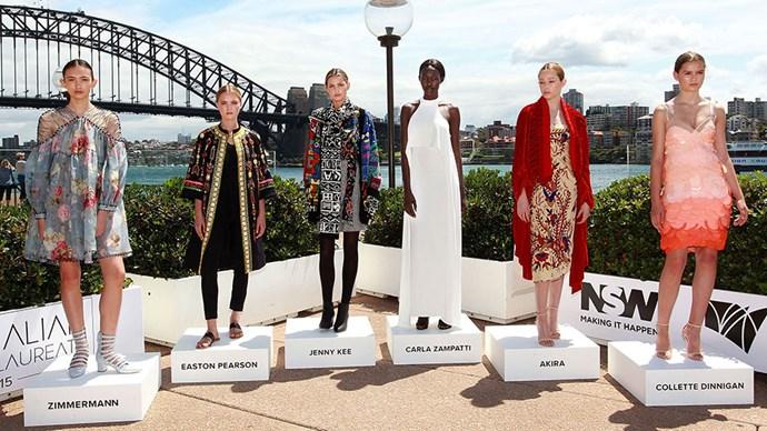 Inside the Australian fashion laureate awards, 2015.
