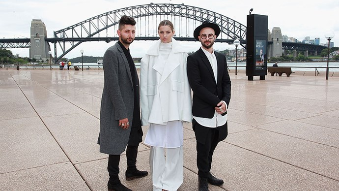 <strong>BEST EMERGING DESIGNER: STRATEAS.CARLUCCI</strong><BR><BR> <strong>How do you feel about the future of Australian fashion?</strong><br><br> <strong>Mario-Luca Carlucci:</strong> It's a really exciting time to be an Australian fashion designer - there's a bit of a spotlight Australia in general at the moment, I think people's perception of what Australia is about has really shifted. It's easier to get your name and brand out there than it was, say, 5-10 years ago.<br><br> <strong>What has been your career highlight so far?</strong><br><br> <strong>Peter Strateas:</strong> Showing our collection in Paris, and on the runway last season, that was a really big milestone for us.<br><br> <strong>What do you attribute your success to?</strong><br><br> <strong>MLC:</strong> I think the most important thing for an emerging brand is to have a unique point of view, to find a niche or a particular spot in the market that you can slot into. It's about shaping your voice and your vision and then trying to own that space you're in.<br><br> <strong>Is there anyone you'd love to see wear your designs?</strong><br><br> <strong>MLC:</strong> We were lucky enough to dress Cate Blanchett this year- she's an amazing style icon for Australia.<br><br> <strong>PS:</strong> That was like a wish coming true.<br><br>