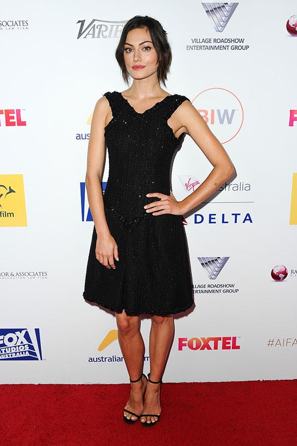<strong>2015</strong><br><br> At the Australians in Film Benefit Dinner and Gala