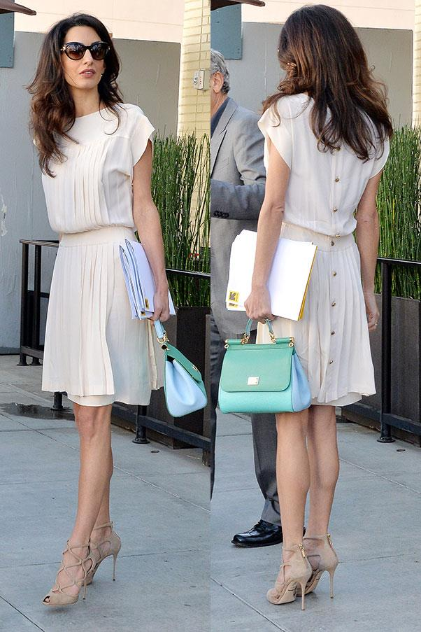 <strong>Where: </strong>Out to lunch in Beverly Hills<br> <strong>When: </strong>October 22, 2015<br>