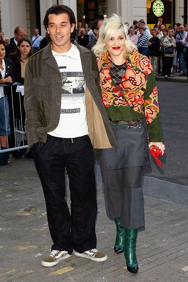 Gavin Rossdale and Gwen Stefani (</3)