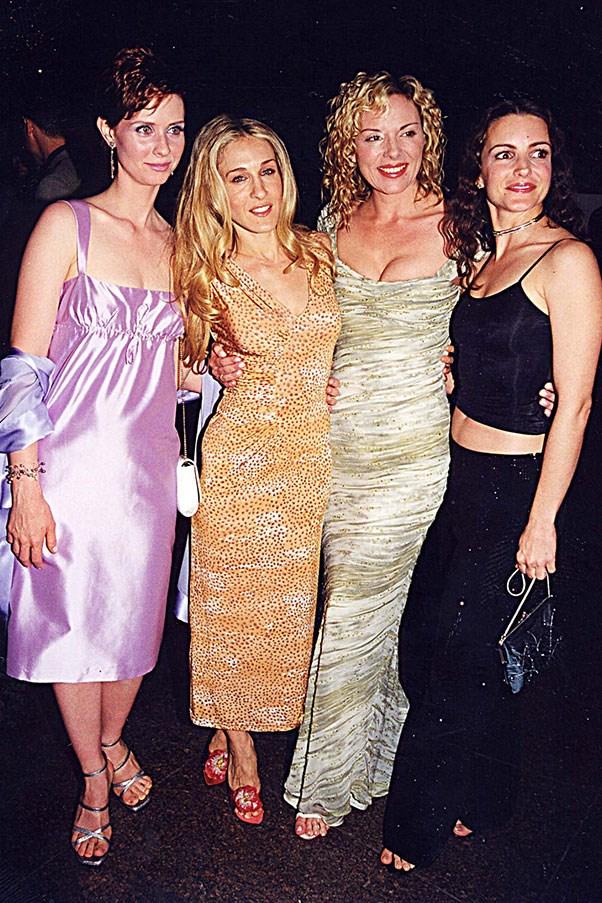 Cynthia Nixon, Sarah Jessica Parker, Kim Catrall, Kristin Davis