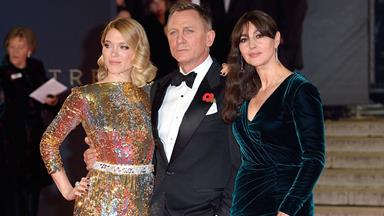 Léa Seydoux and Monica Bellucci on Being Bond Girls
